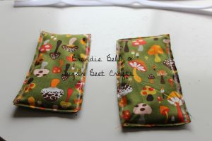 two pillow pieces