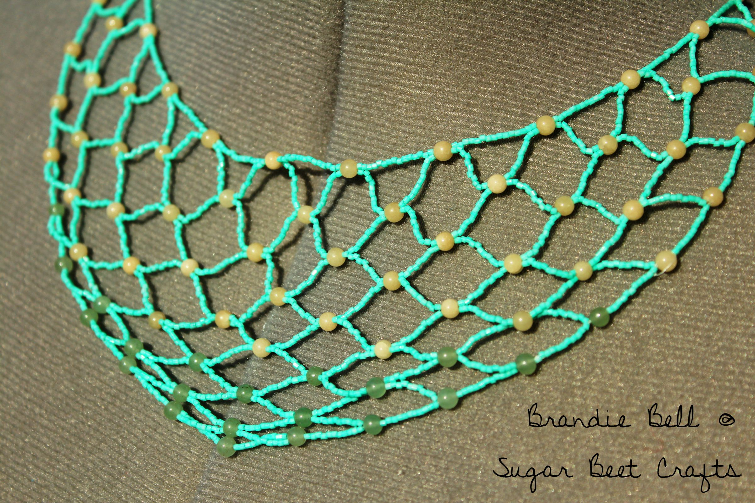 Net Necklace - Handmade