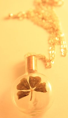 Little Bottle of Luck by SugarBeetCrafts on Etsy