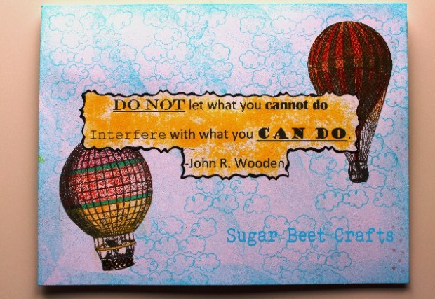 Digital Stamps, quotes and construction paper