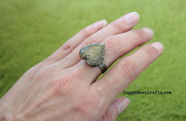 Heart Locket Ring 4