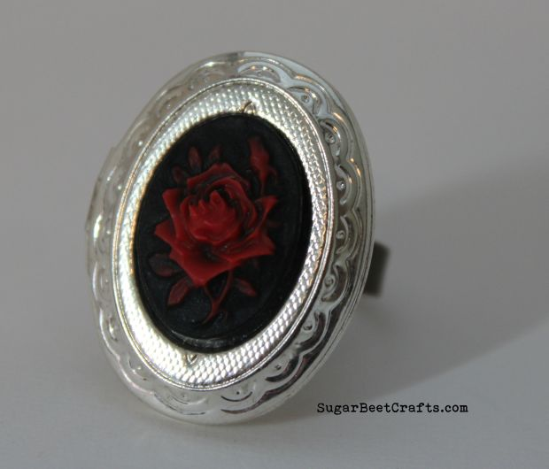Rose Locket Ring 1