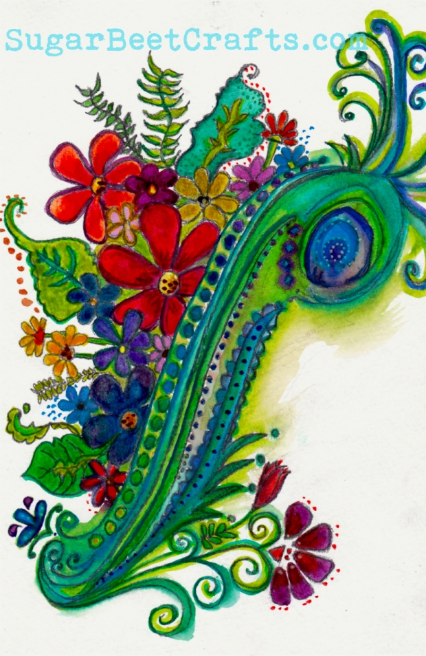 watercolor by Brandie