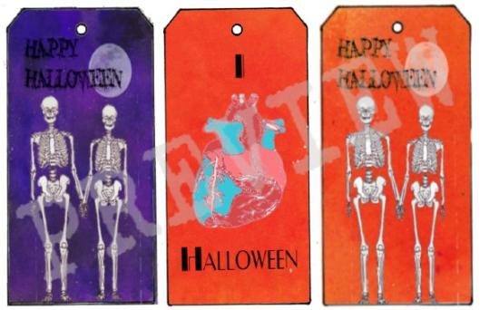 Halloween Tag Set 2 preivew