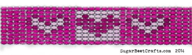 Loom Bead Heart Pattern