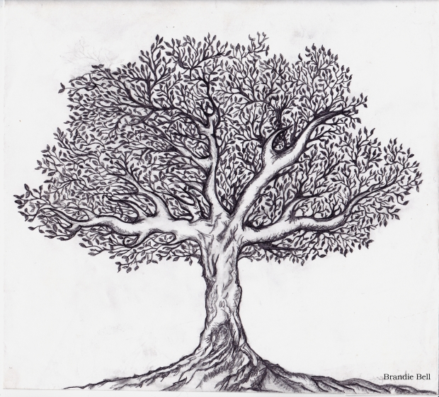 Black and White Tree