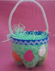 Recycled soda bottle into basket by Craft Elf