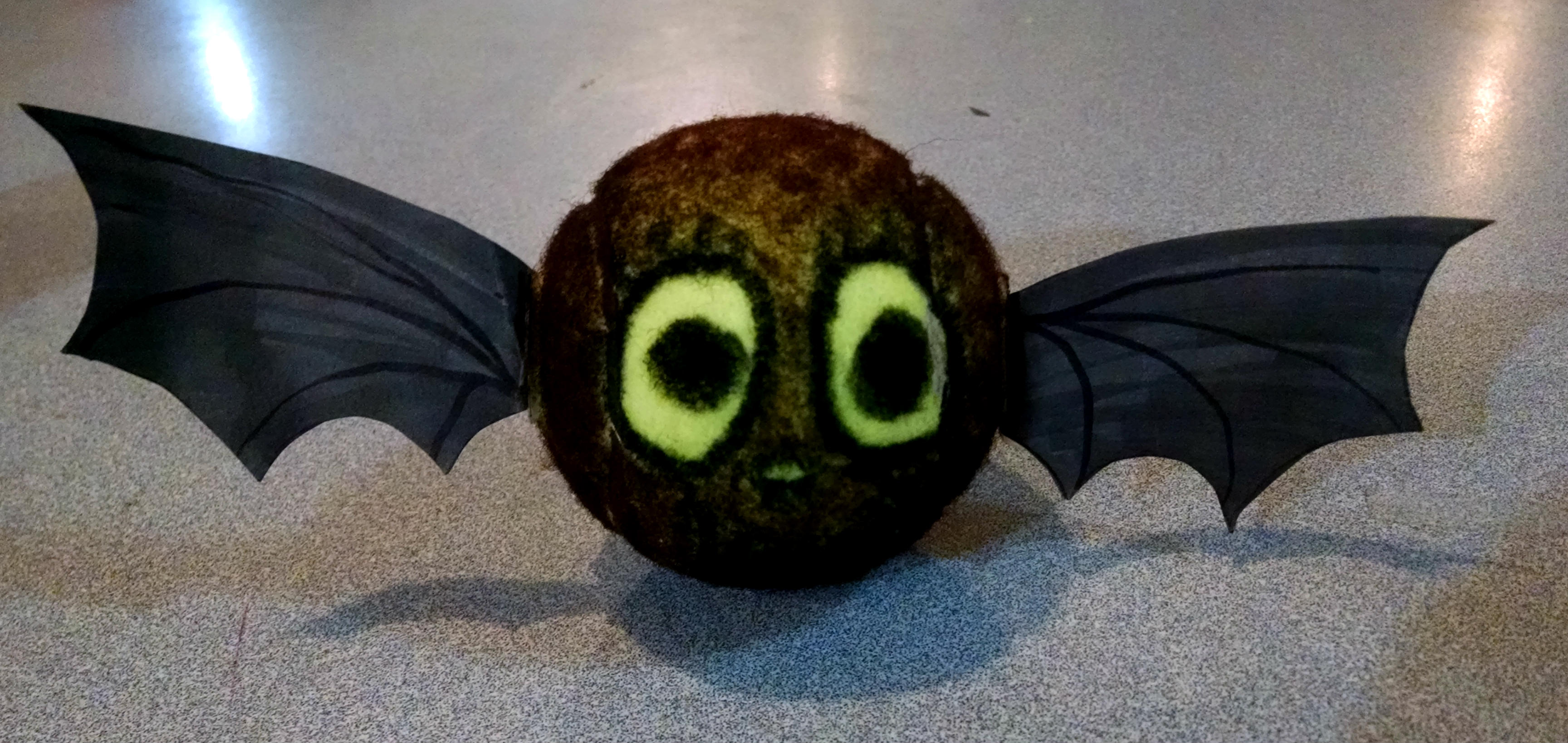 Recycled Tennis Ball Halloween Creatures Sugar Beet Crafts
