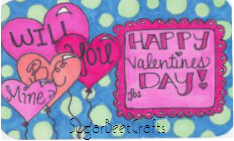 candy hearts free download by sugarbeet crafts