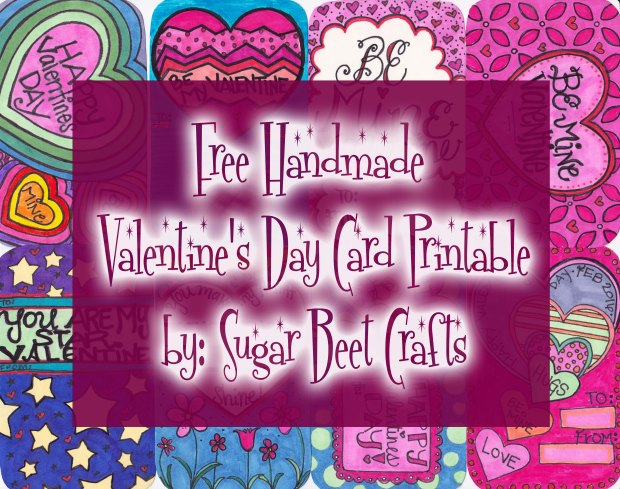 SugarBeetCrafts Valentines Day Cards Title