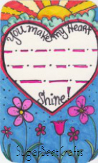 You make my heart shine free download by sugarbeet crafts