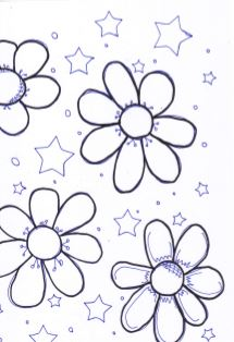 Captureflowers and stars
