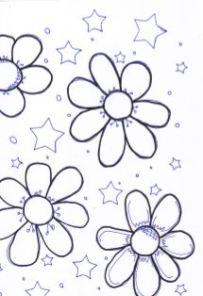 Captureflowers and stars